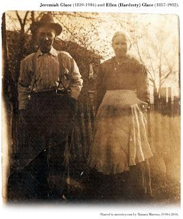 Image of Jeremiah and Ellen (Hardesty) Glace