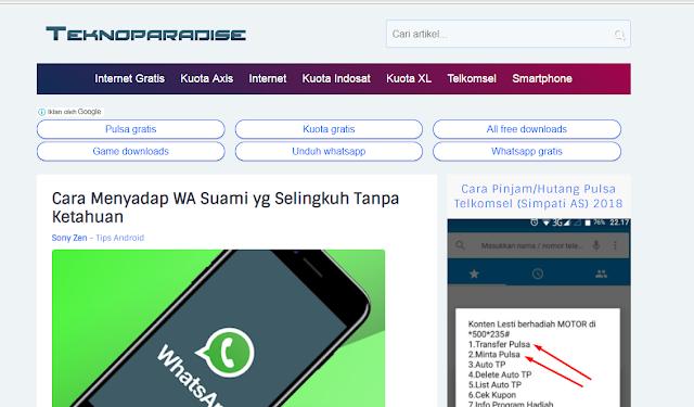 Teknoparadise.com, Blog Seputar Teknologi dan Smartphone