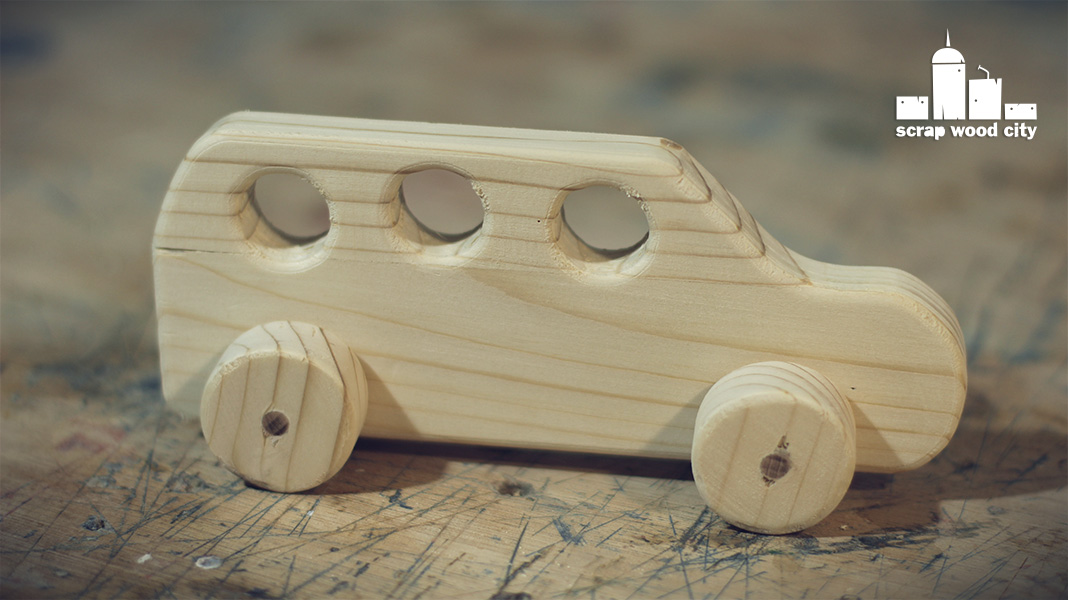 Scrap Wood City How To Make A Simple Diy Toy Car Out Of Wood
