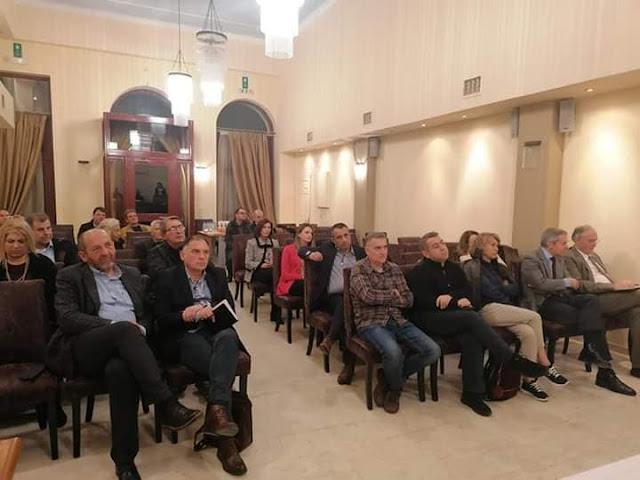 Συνεδρίαση της Ομοσπονδίας Εμπορίου και Επιχειρηματικότητας Πελοποννήσου στο Γύθειο