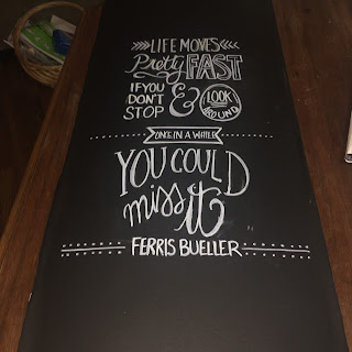Chalkboard Door Update