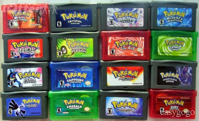 Gameboy Advance Pokemon Games