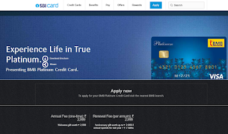 How to Apply SBI Credit Card Online, BMB Platinum Credit Card