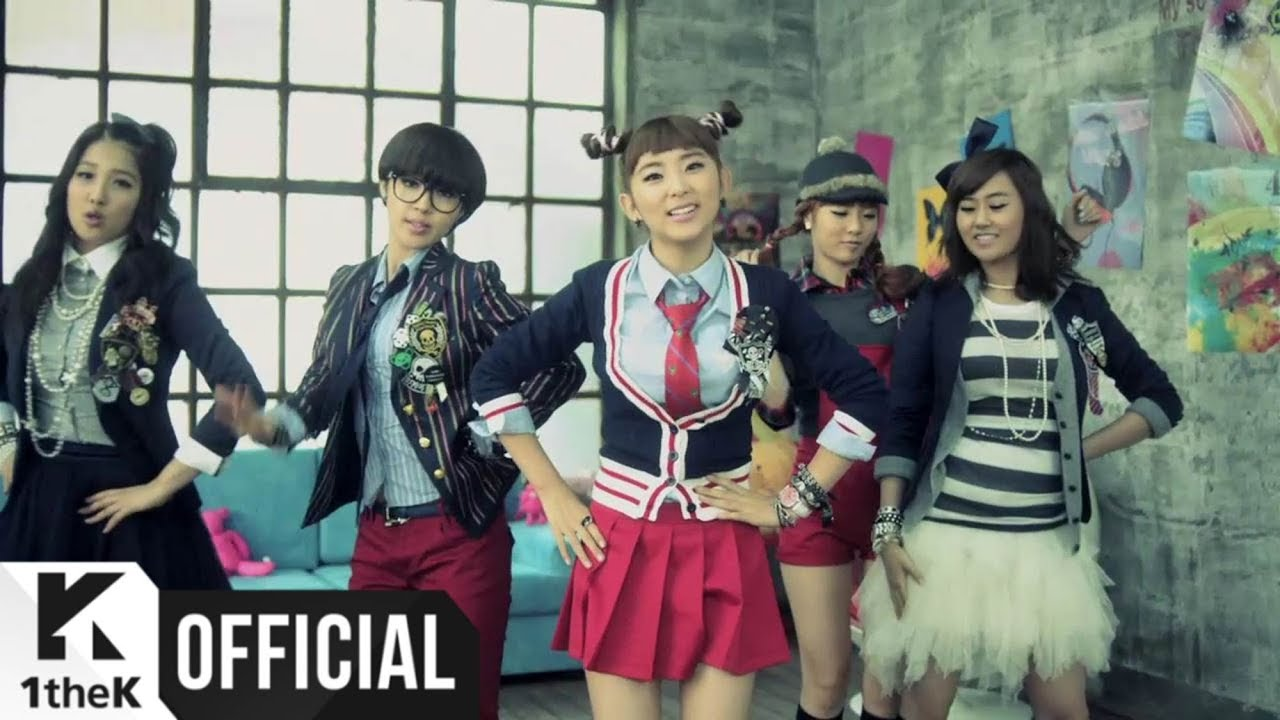 4Minute , What A Girl Wants , MV, 2160p , Kpop