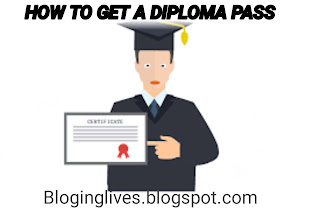 HOW TO GET A DIPLOMA PASS? How To pass engineering?