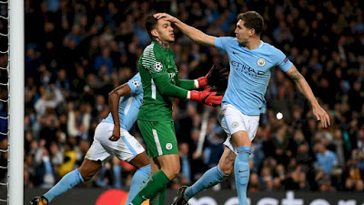Highlight Manchester City 2-1 Napoli, 17 Oktober 2017