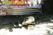 Idul Adha 1441 H, Polres Pandeglang Distribusikan Hewan Qurban untuk Masyarakat