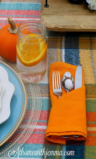Thanksgiving, Alfresco, Tablescape, Centerpiece, Athomewithjemma