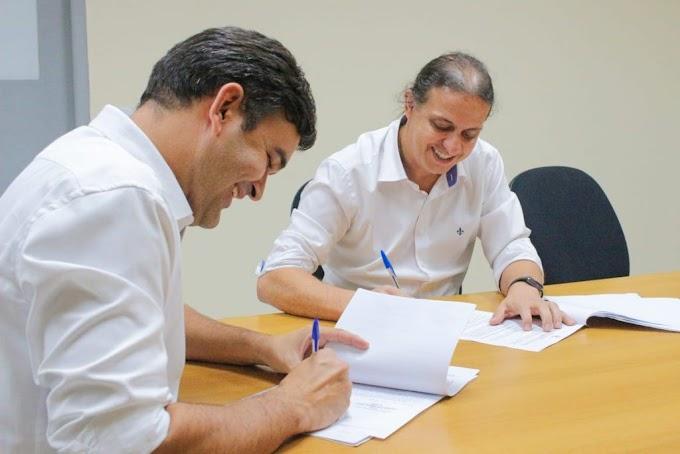 Prefeito Fábio Gentil assina Termo de Cooperação Técnica para Programa de Regularização Fundiária em Caxias