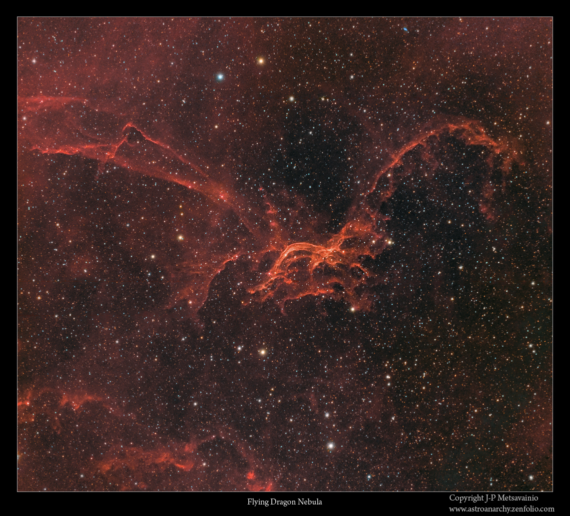 Astro Anarchy: Sharpless 114, Sh2-114, the Flying Dragon ...