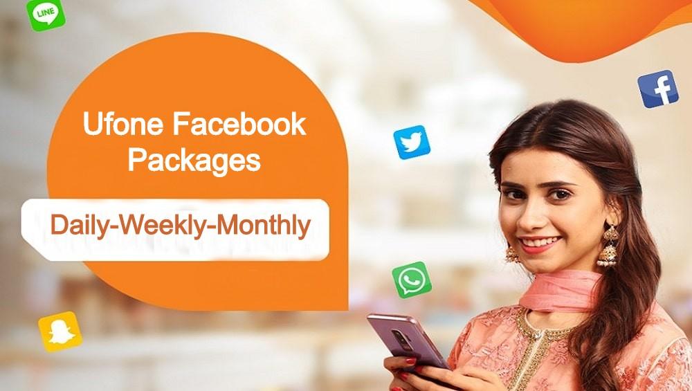 ufone facebook package dailyweeklymonthly 2021
