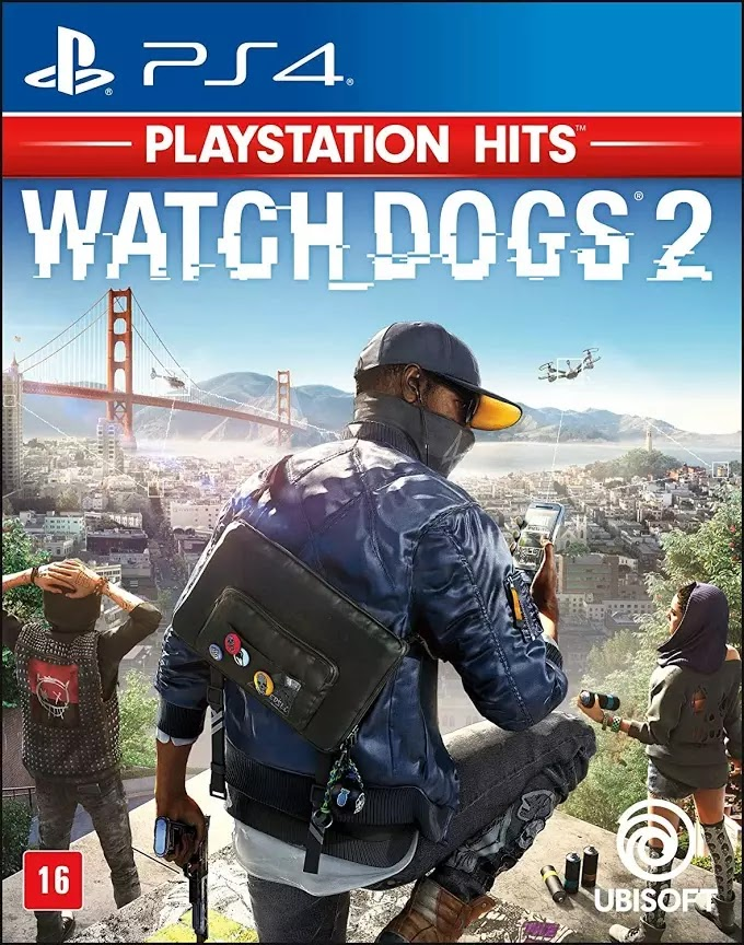 Jogo Watch Dogs 2 (Playstation Hits) [PS4]