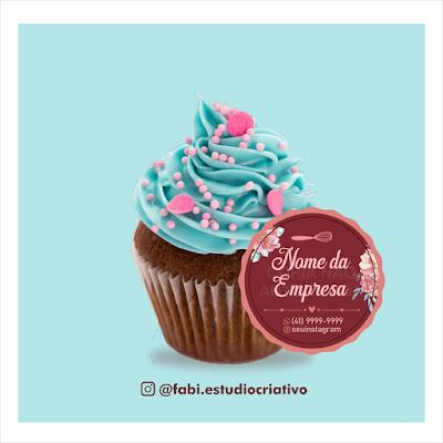 logo para doceiras; logo doceria; marca para doces; marca bolo no pote; marca para confeiteira; bolo no pote; logo bolo no pote; adesivos para bolo no pote; marca para doces personalizados