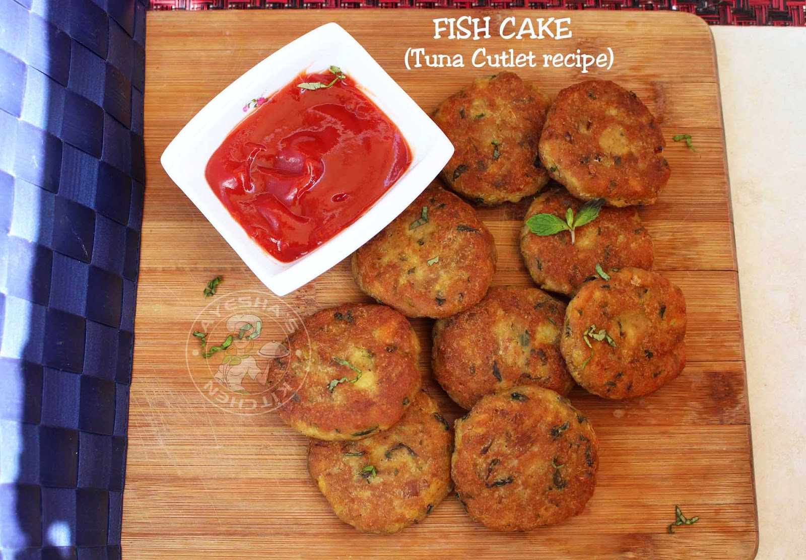 Fish cakes quick tuna fish cutlets for Leftover fish recipes