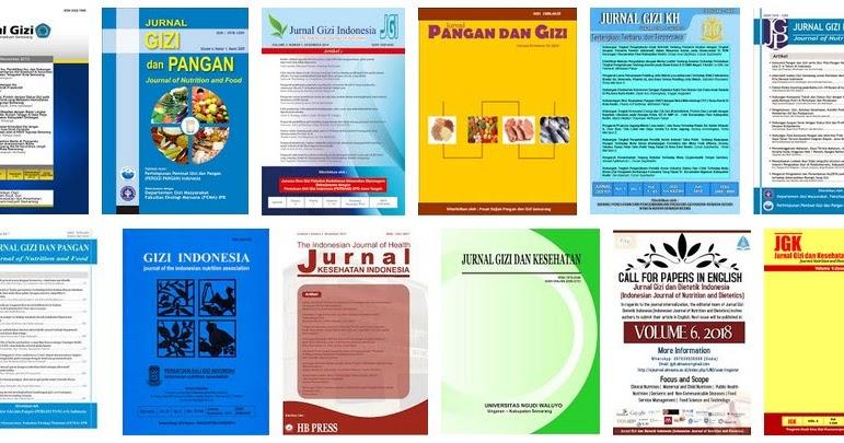 Inilah Daftar Lengkap Jurnal Gizi Di Indonesia Beserta Reputasinya Persagi Bandung