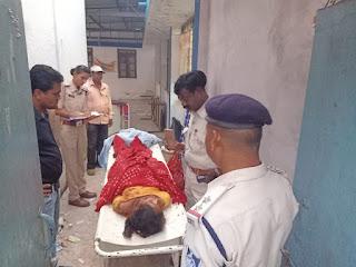 परिजन ने लगाए लापरवाही के आरोप, महिला की मौत