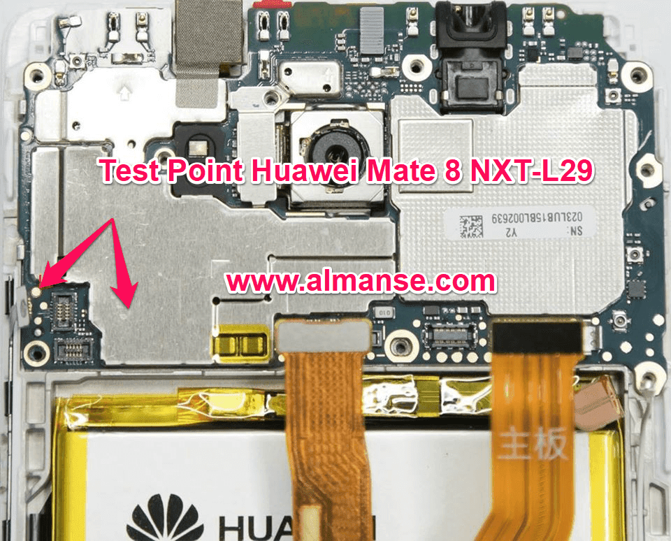 Test Point Huawei Mate 8 NXT-L29