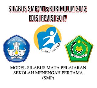Download Silabus Kelas 7 8 9 SMP Kurikulum 2013 revisi 2017