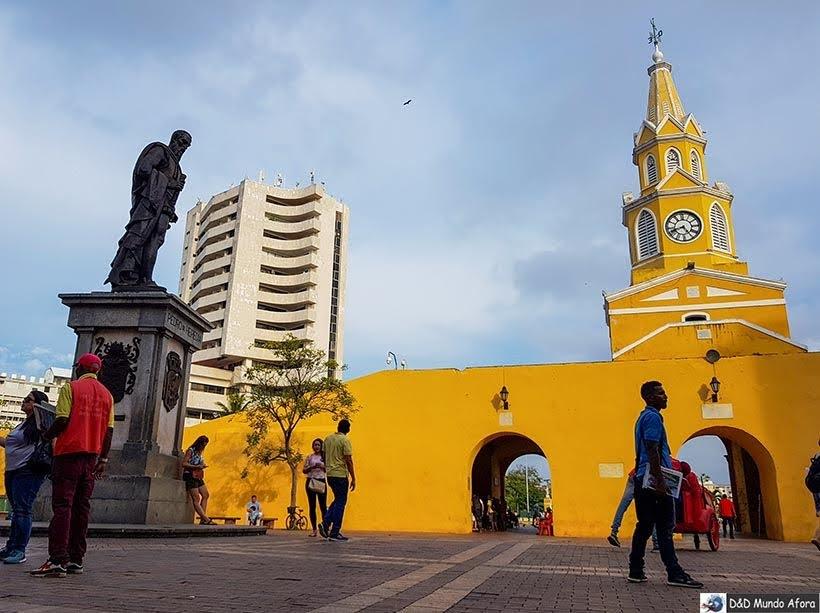 Plaza de los Coches - O que fazer em Cartagena, Colômbia