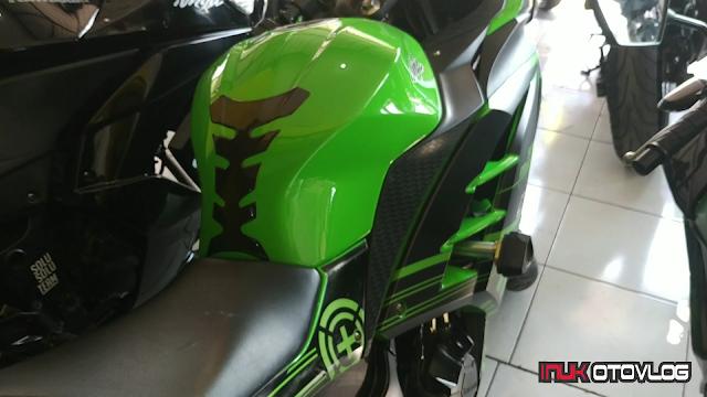 Kawasaki Ninja 250 Fi Bekas Tahun 2012 warna hijau by Inukotovlog