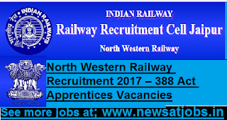 North-Western-Railway-388-Apprentices-Vacancies