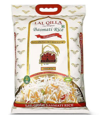 LAL. QILLA Traditional Basmati Rice 5 Kg