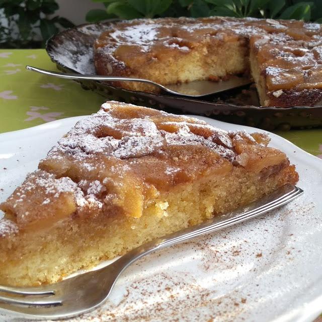 Ανάποδη μηλόπιτα (Tarte tatin)
