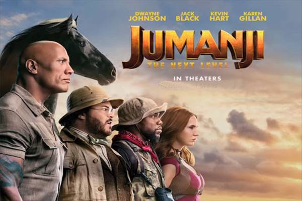 Review Jumanji: The Next Level (2019), Film Aksi Fantasi Terbaru Dwayne Johnson