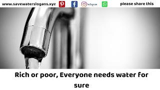 save water slogans 6