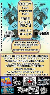 eventos de rap argentino , militancia rapper