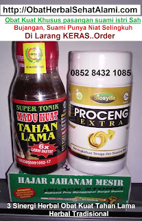 Obat Kuat alami tahan lama herbal tradisional