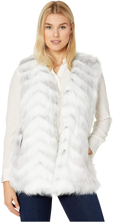 Best White Faux Fur Vests For Women