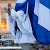 """Μαθήματα πατριωτισμού για τη σημαία απ΄ όσους παρακαλούσαν """"τον αέρα να φυσήξει"""";"""