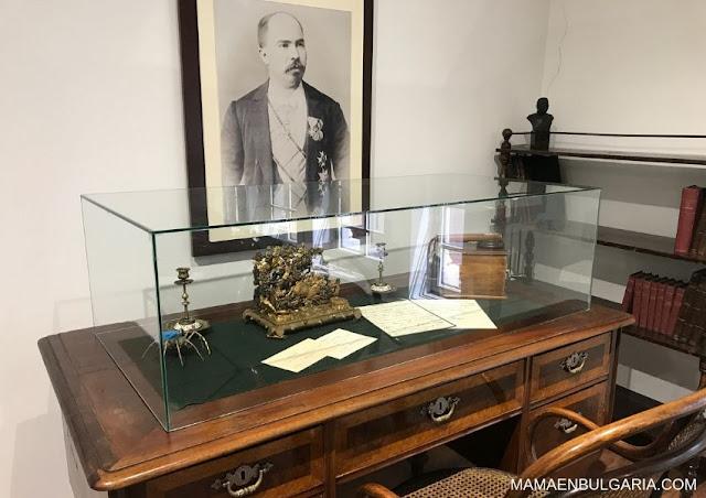 El estudio de Stefan Stambolov Museo de Historia Regional de Sofía Bulgaria
