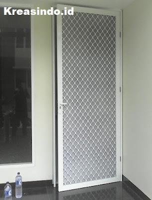 Harga Pintu Expanda atau Pintu Kawat Nyamuk Aluminium