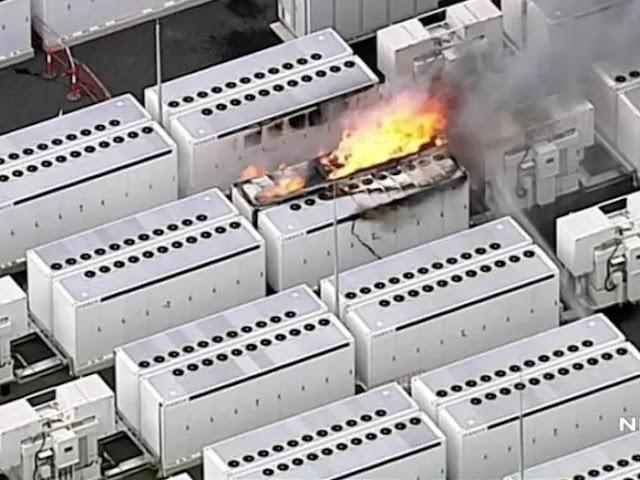 Fire at Tesla's solar battery factory in Australia