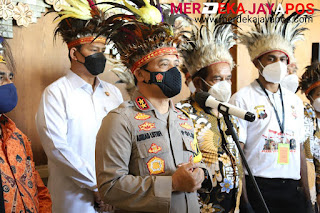 Kapolda Jateng Launching Program Pola Anak dan Orang Tua Asuh Pelajar/Mahasiswa Asli Papua di Jateng