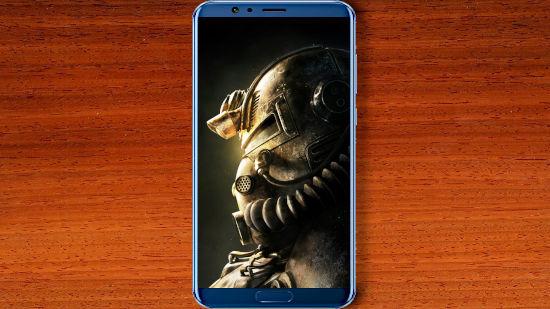 Casque Armure Assistée - Fallout 76 - QHD pour Mobile