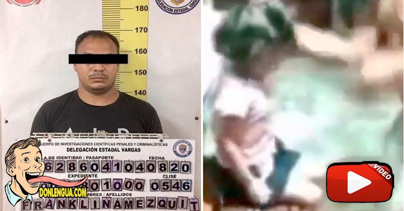 Detenido delincuente que golpeaba a su hija pequeña en la cara