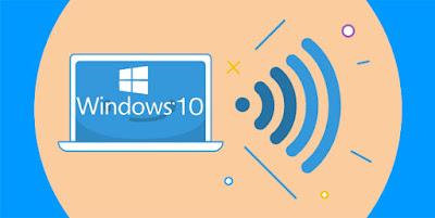 شرح طريقة مشاركة الاتصال السلكي أو اللاسلكي في ويندوز 10