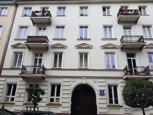 Warszawa Warsaw kamienica ulica warszawskie ulice architektura architecture Śródmieście balkony
