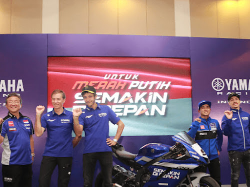 Launching Yamaha Racing Indonesia 2020