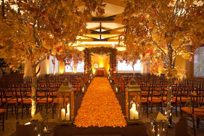 Nature-Inspired Fall Wedding Decors