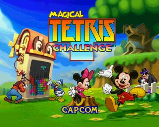 Magical Tetris Challenge rom online para N64