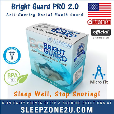 Bright Guard™ Snoring & Grinding Dental Mouth Guard