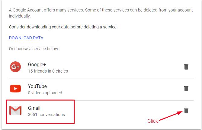 Gmail Account Delete Karna