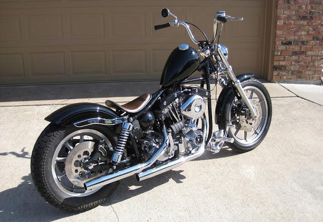 Harley Davidson Shovelhead By Main Drive Cycle Hell Kustom