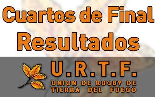 [URTF] Resultados: 1ra División - Cuartos de Final