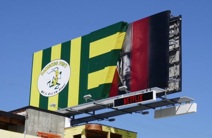 El Camino Breaking Bad Vamanos Pest billboard