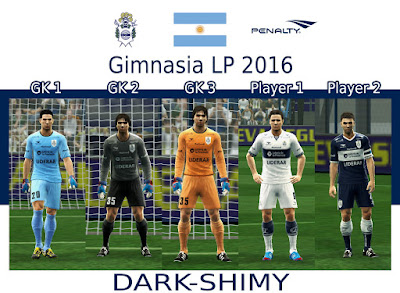 PES 2013 Gimnasia LP 2016 GDB by Dark Shimy